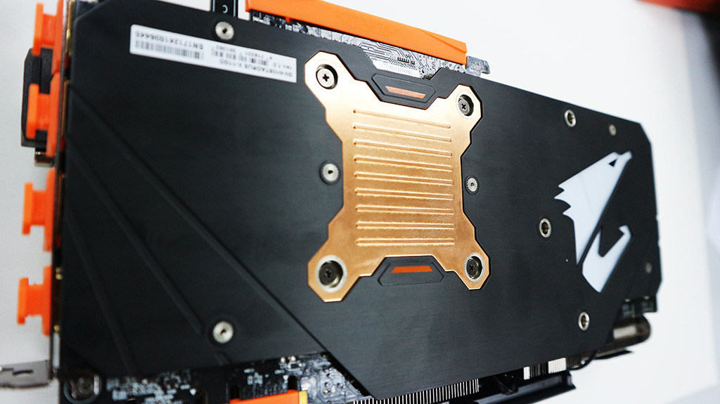 Backplate Copper Plate